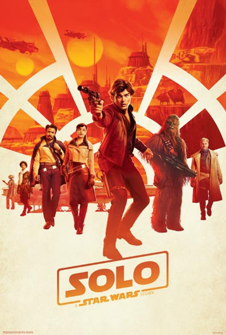 Solo: A Star Wars Story - One Sheet-Poster-Laminated available-91cm x 61cm-Brand New-4490