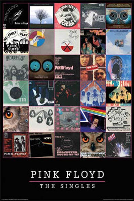Pink Floyd - Singles-Poster-Laminated available-91cm x 61cm-Brand New-24-1191