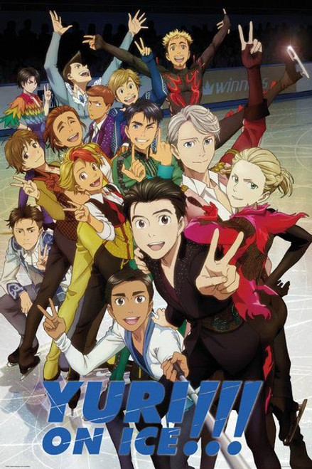 Yuri On Ice - Characters-Poster-Laminated available-91cm x 61cm-Brand New-FP4566