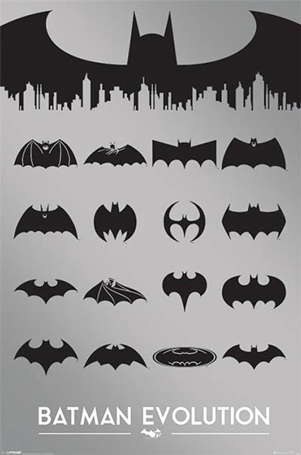 DC Comics - Batman Evolution-Poster-Laminated available-91cm x 61cm-Brand New-PP33476
