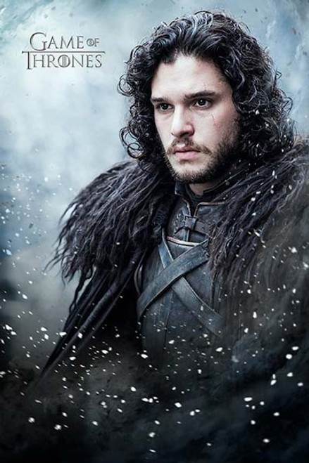 Game Of Thrones - Jon Snow-Poster-Laminated available-91cm x 61cm-Brand New-PP33857