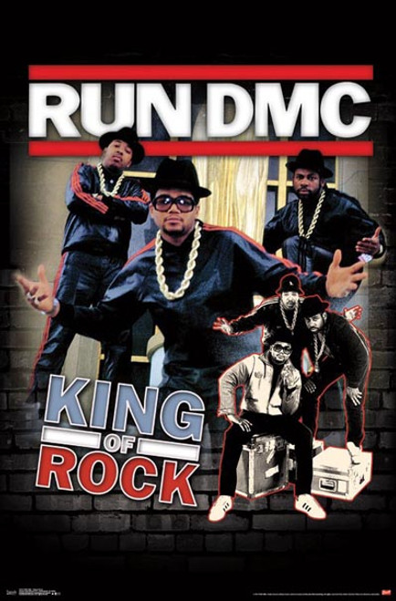 Run DMC - King Of Rock-Poster-Laminated available-91cm x 61cm-Brand New-RP15757
