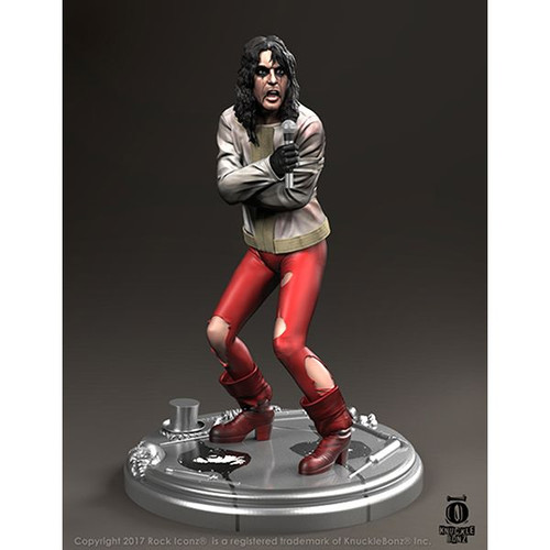 """Alice Cooper - """"Ballad of Dwight Fry"""" Rock Iconz Statue-KNUALICE100"""