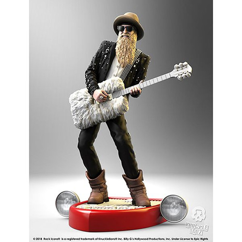 ZZ Top-Billy F Gibbons - Rock Iconz Statue-KNUBGIB100