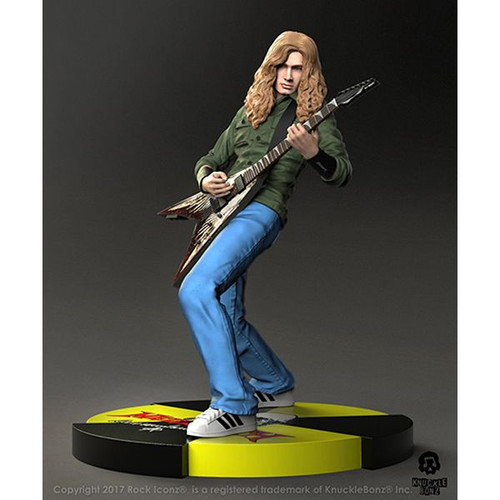 Megadeth - Dave Mustaine Rock Iconz Statue-KNUMGDDM100