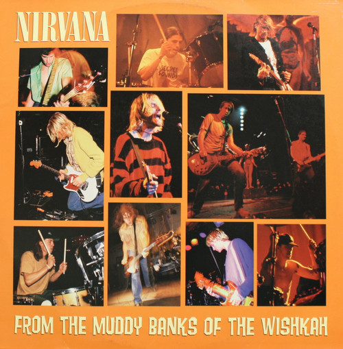 NIRVANA-From The Muddy Banks of the Wishkah (2 LP's)-Vinyl Double LP-Brand New-Still Sealed