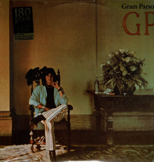 GRAM PARSONS-GP (180 Gram Vinyl) Vinyl LP-Brand New-Still Sealed