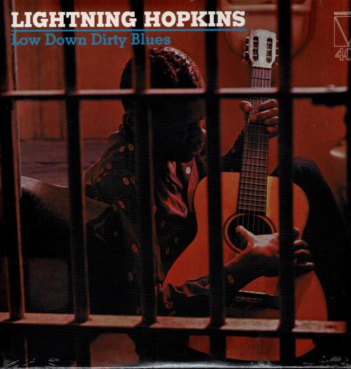 LIGHTNING HOPKINS-Low Down Dirty Blues Vinyl LP-Brand New-Still Sealed