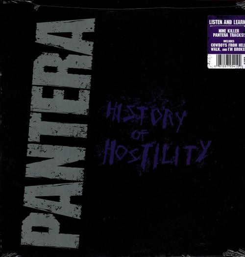 PANTERA-History of Hostility Vinyl LP-Brand New-Still Sealed