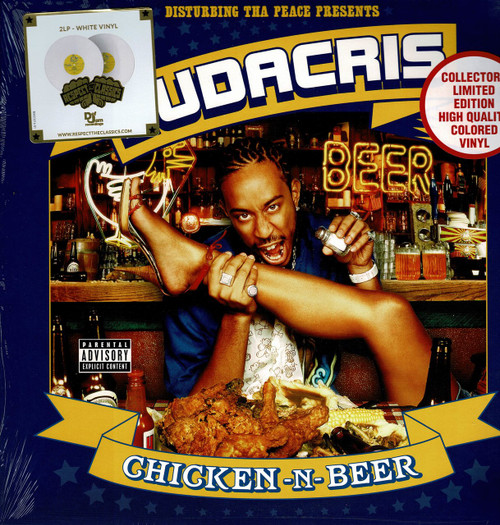 LUDACRIS (2 LP's - White Vinyl)-Chicken-n-Beer Vinyl LP-Brand New-Still Sealed