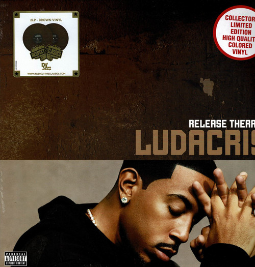 LUDACRIS (2 LP's - Brown Vinyl)-Release Therapy Vinyl LP-Brand New-Still Sealed