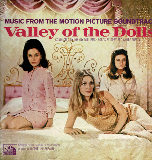 VALLEY OF THE DOLLS-Motion Picture Soundtrack Vinyl LP-Brand New-Still Sealed
