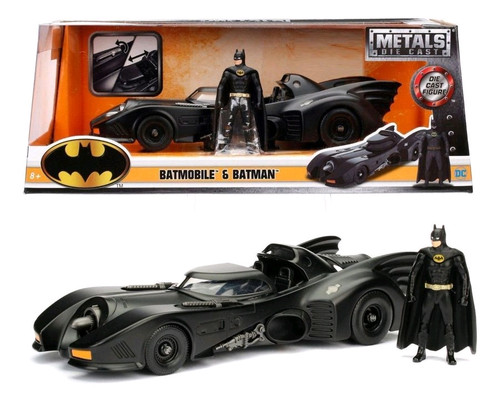 Batman - Batmobile 1989 1:24 with Batman-JAD98260