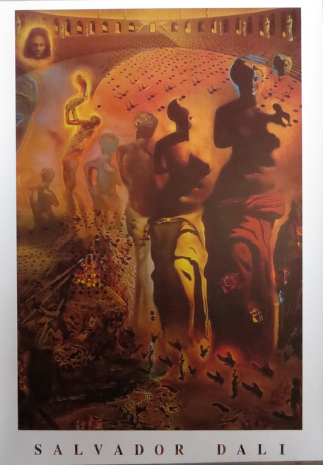 Salvador Dali-Halluceogenic-Poster-Laminated available-90cm x 60cm-Brand New