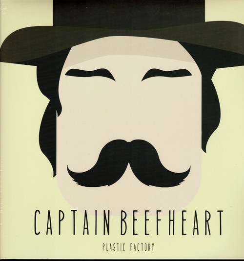 CAPTAIN BEEFHEART-The Plastic Factory Vinyl LP