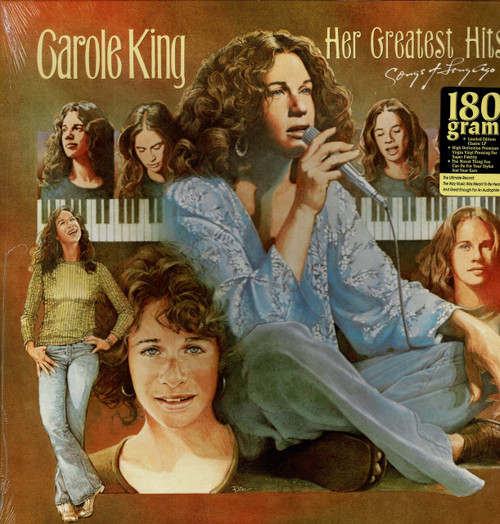 CAROLE KING-Her Greatest Hits (180 gram) Vinyl LP