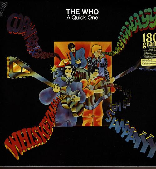 WHO (Mono)-A Quick One (180 gram) Vinyl LP-Brand New-Still Sealed