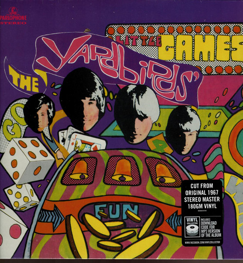 YARDBIRDS-Little Games (180 gram) MP3 Download Voucher Vinyl LP-Brand New-Still Sealed