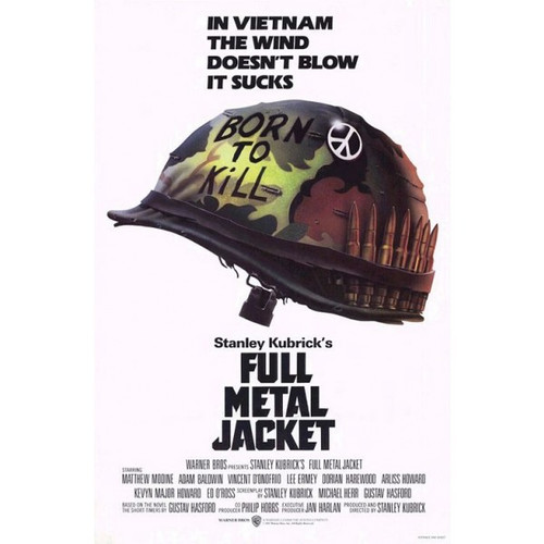 Full Metal Jacket-movie sheet-Poster 70cm x 100cm-LAMINATED Available-P233