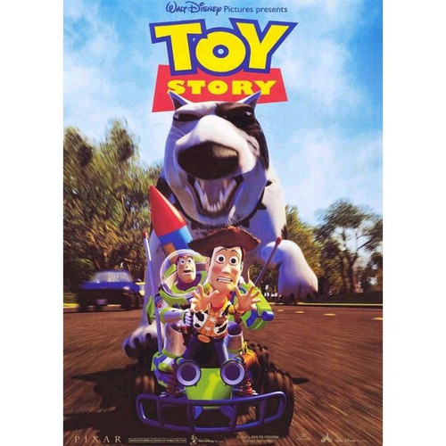 Toy Story --movie sheet-Poster 70cm x 100cm-LAMINATED Available-P574