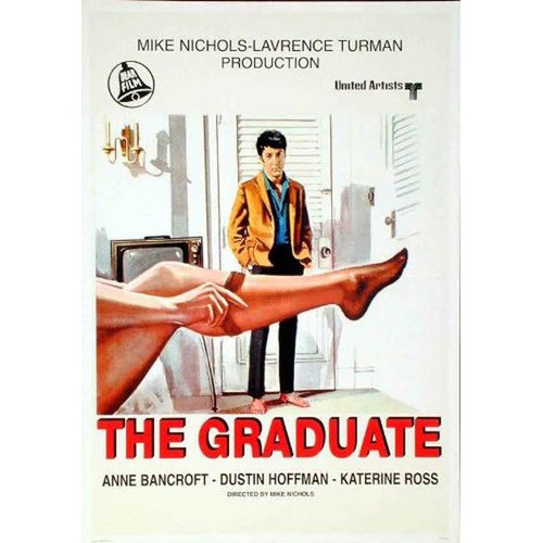The Graduate-movie sheet-Poster 70cm x 100cm-LAMINATED Available-P370