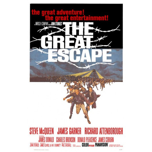 The Great Escape-movie sheet-Poster 70cm x 100cm-LAMINATED Available-P947