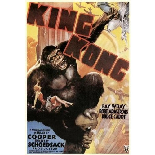 King Kong-movie sheet-Poster 70cm x 100cm-LAMINATED Available-P1722