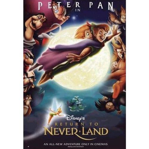 Peter Pan: Return To Neverland-movie sheet-Poster 70cm x 100cm-LAMINATED Available-P3646
