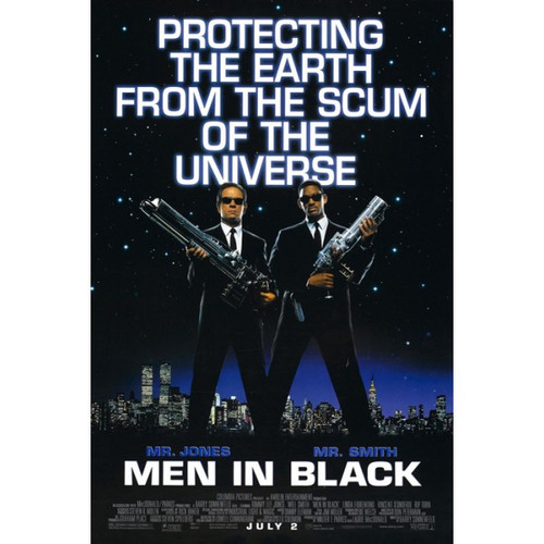 Men in Black-Protecting the earth-Poster 70cm x 100cm-LAMINATED Available-P1330