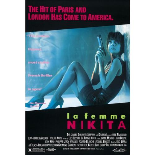 La Femme Nikita-movie sheet-Poster 70cm x 100cm-LAMINATED Available-P515
