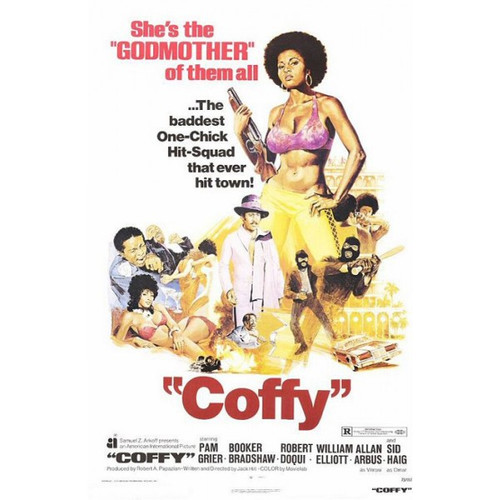 Coffy -movie sheet-Poster 70cm x 100cm-LAMINATED Available-P1048