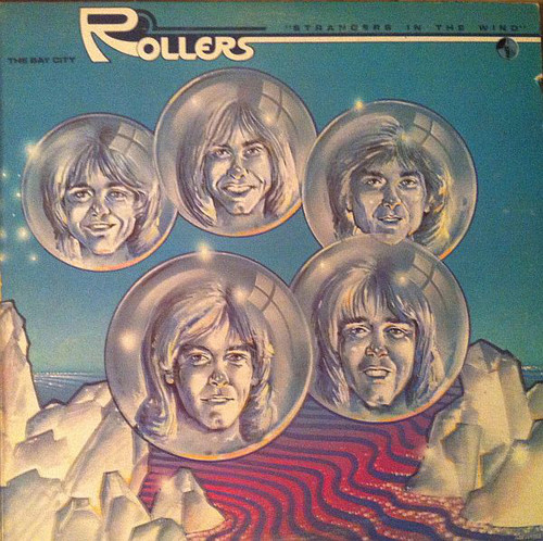 BAY CITY ROLLERS-Strangers In The Wind Vinyl LP-Brand New-Still Sealed