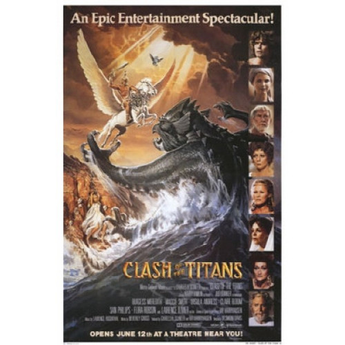 Clash of the Titans-movie sheet-Poster 70cm x 100cm-LAMINATED Available-P1082