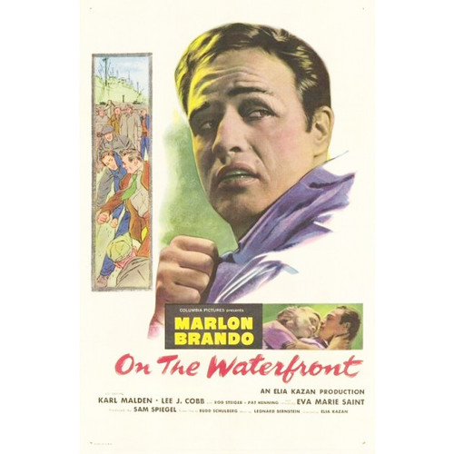 On the Waterfront-movie sheet-Poster 70cm x 100cm-LAMINATED Available-P1017