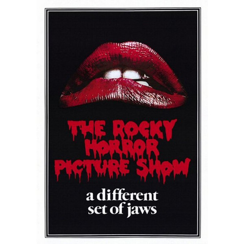The Rocky Horror Picture Show-Jaws-Poster 70cm x 100cm-LAMINATED Available-P219