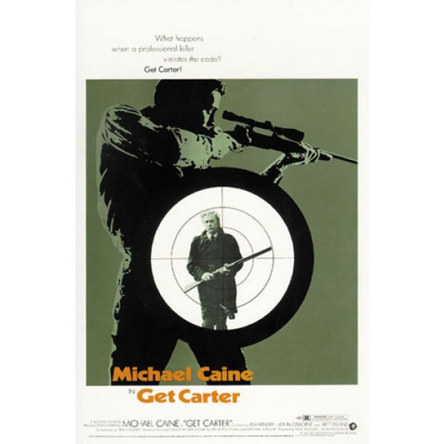 Get Carter-movie sheet-Poster 70cm x 100cm-LAMINATED Available-P1406