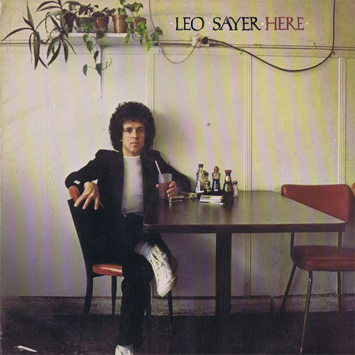 LEO SAYER-Here Vinyl LP-Brand New-Still Sealed