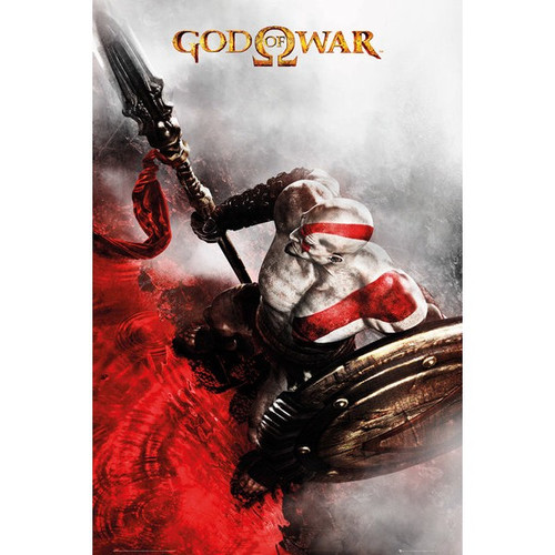 God Of War-Game Cover / Key Art - Version 3-Poster 61cm x 91cm-LAMINATED Available-P5279