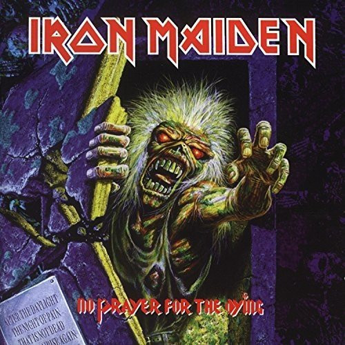 IRON MAIDEN- NO PRAYER FOR THE DYING-VINYL LP-Brand New-Still Sealed