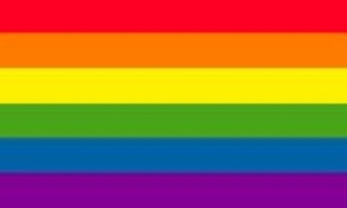 RAINBOW-Textile Fabric Poster Flag-150cm x 90cm-Brand New