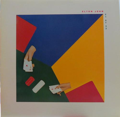 ELTON JOHN-21 At 33 Vinyl LP-Brand New-Still Sealed