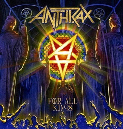 ANTHRAX  - FOR ALL KINGS (2LP)-VINYL LP-Brand New-Still Sealed