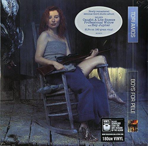 TORI AMOS-BOYS FOR PELE (180g) (DLX 2 LP)-VINYL LP-Brand New-Still Sealed