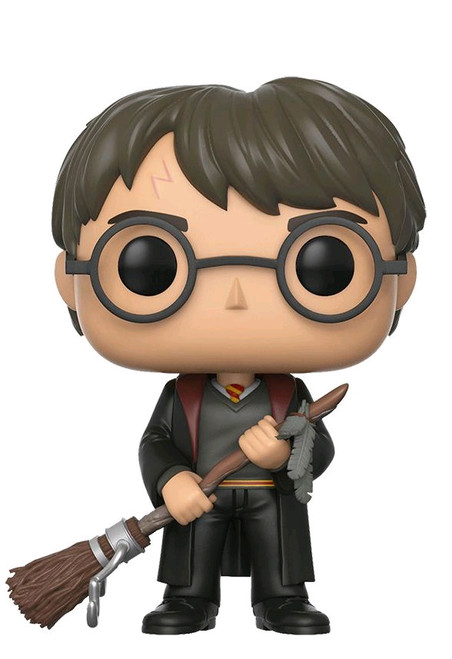 Harry Potter - Harry with Firebolt US Exclusive Pop! [RS]-FUN14949