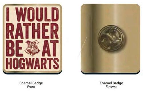 Harry Potter - Hogwarts Slogan Badge-HMBPBADHP22