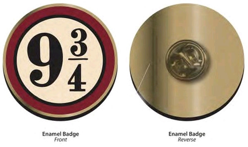 Harry Potter - Platform 9 3/4 Badge-HMBPBADHP24