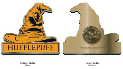 Harry Potter - Hufflepuff Sorting Hat Badge-HMBPBADHP14