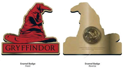 Harry Potter - Gryffindor Sorting Hat Badge-HMBPBADHP11