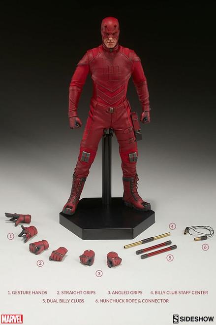 """Daredevil - Daredevil 12"""" 1:6 Scale Action Figure-SID100344"""