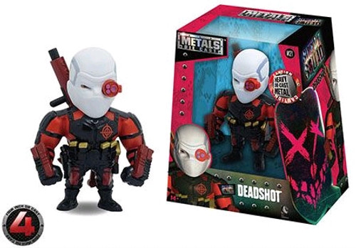 "Suicide Squad - Deadshot 4"" Metals Wave 1"